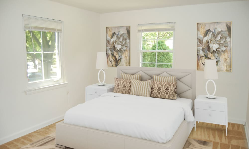 Beautiful Bedroom at Apartments in Springfield, New Jersey
