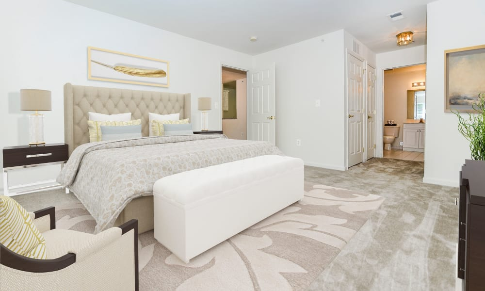 Beautiful Bedroom at The Horizons at Franklin Lakes Apartment Homes in Franklin Lakes, New Jersey