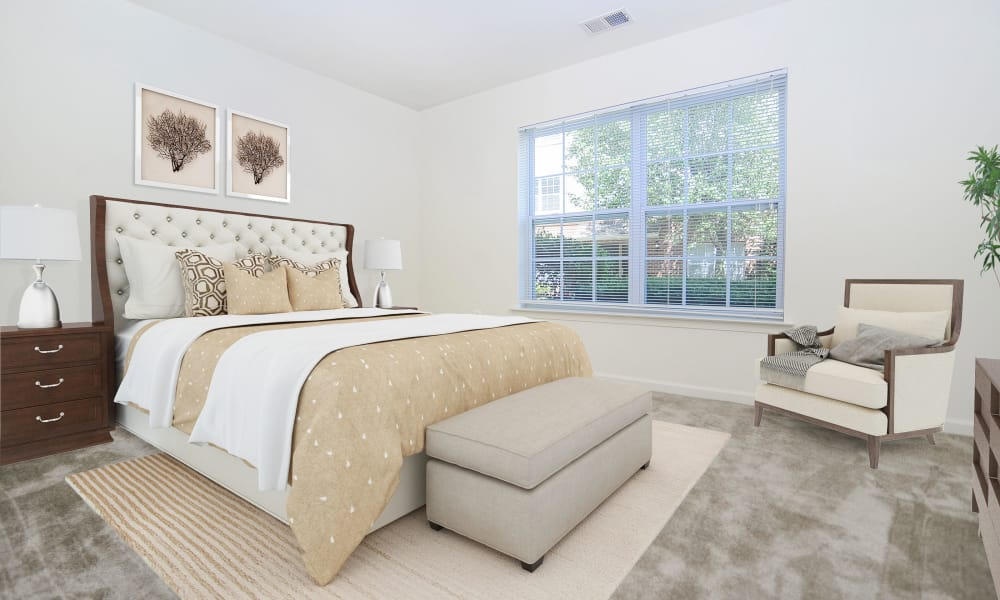 Our Apartments in Franklin Lakes, New Jersey showcase a Beautiful Bedroom