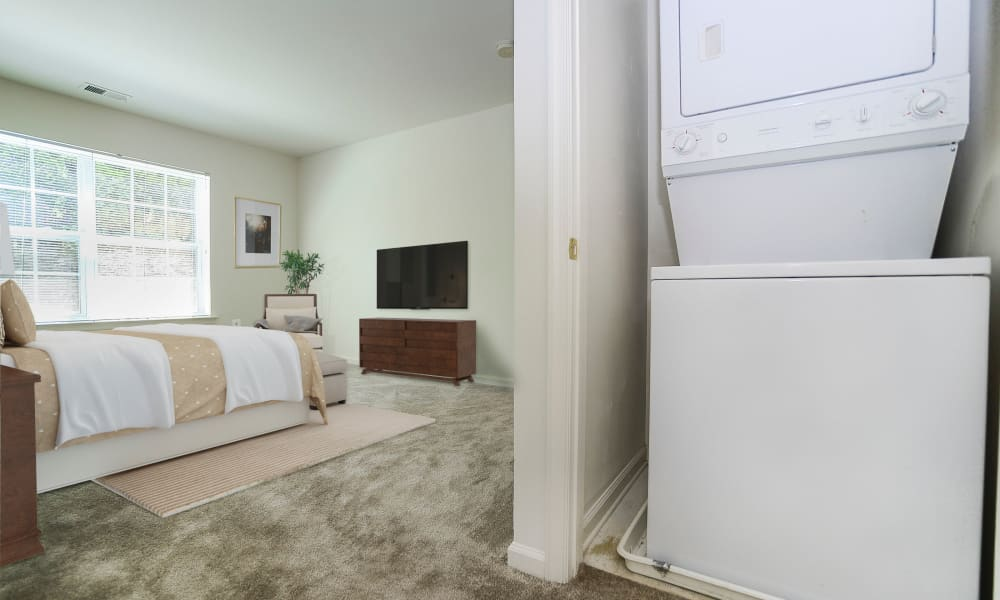 The Horizons at Franklin Lakes Apartment Homes in Franklin Lakes, New Jersey offers Apartments with a Washer/Dryer
