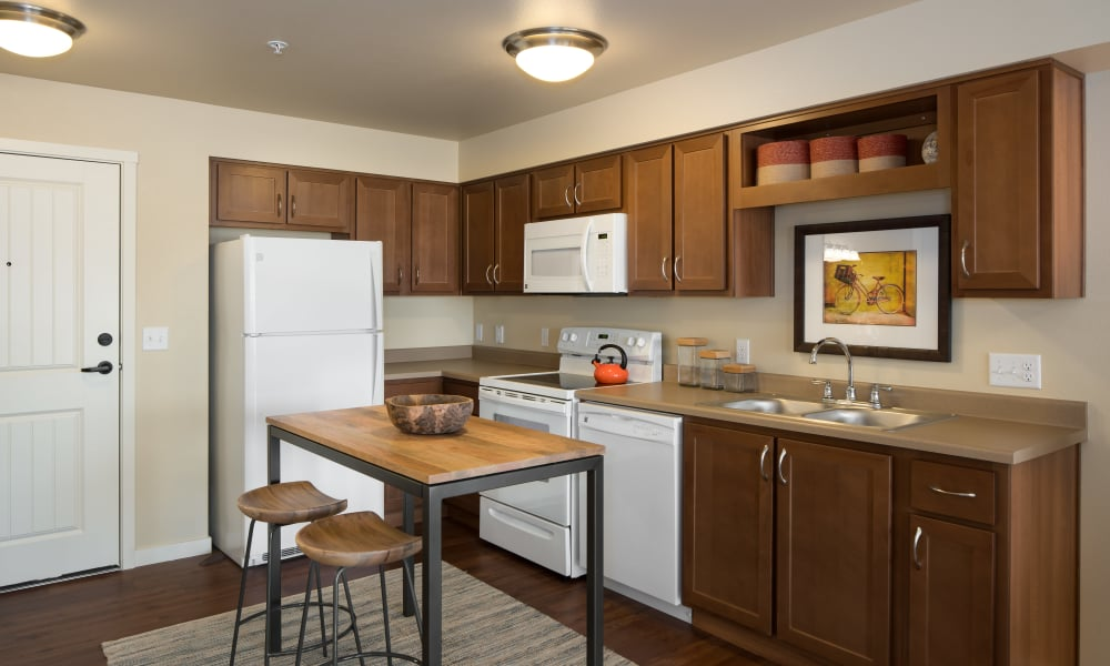 Kitchen at Affinity Living Communities