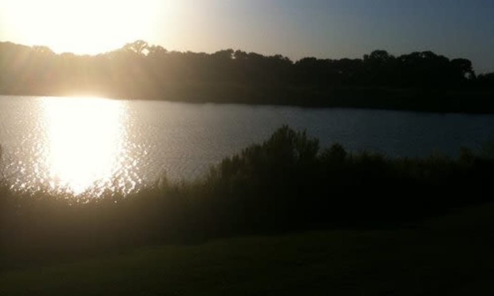 Lake at Stone Lake Apartments in Grand Prairie, Texas