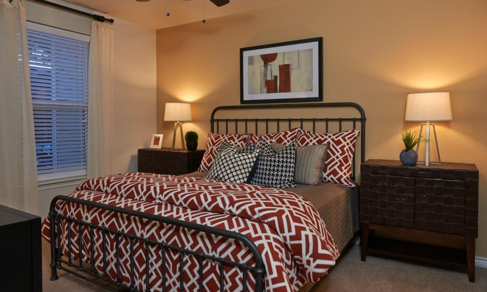 Bedroom at Seventeen15 in Houston, Texas