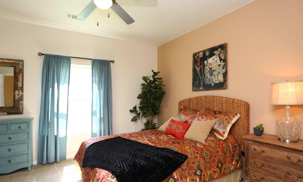 Bedroom at Longhorn Crossing in Fort Worth, Texas