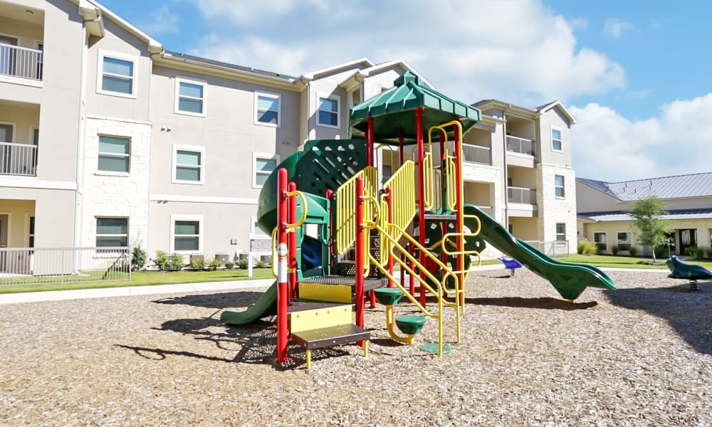 Playground at Longhorn Crossing in Fort Worth, Texas