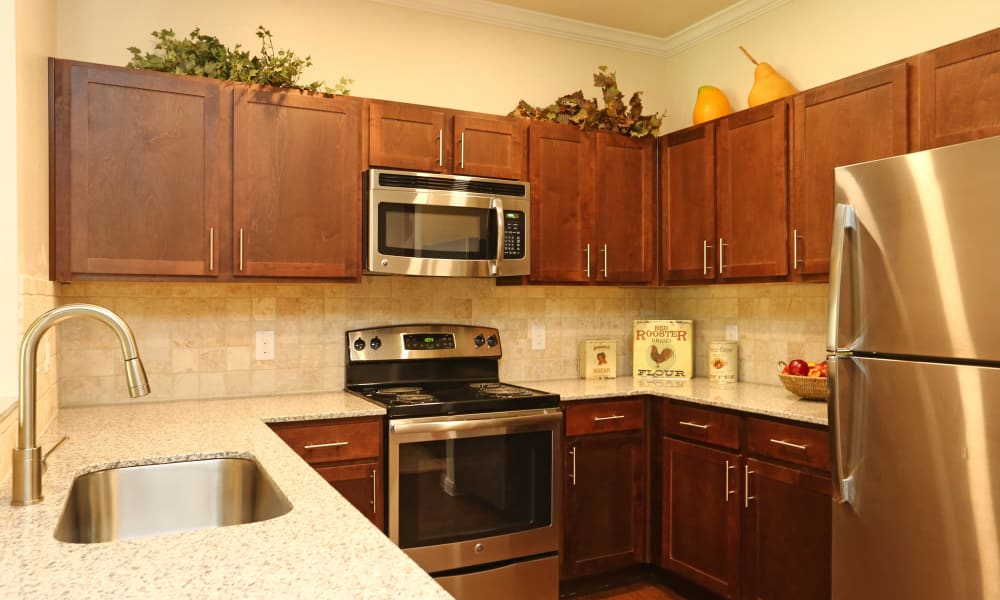 Our apartments in Fort Worth, Texas offer a kitchen