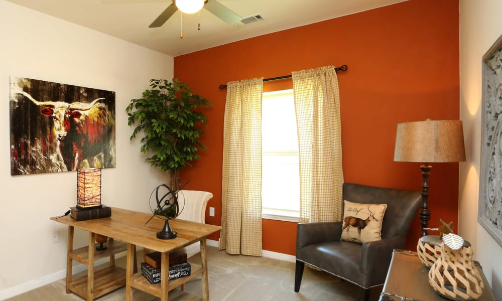 Apartment interior at Longhorn Crossing in Fort Worth, Texas