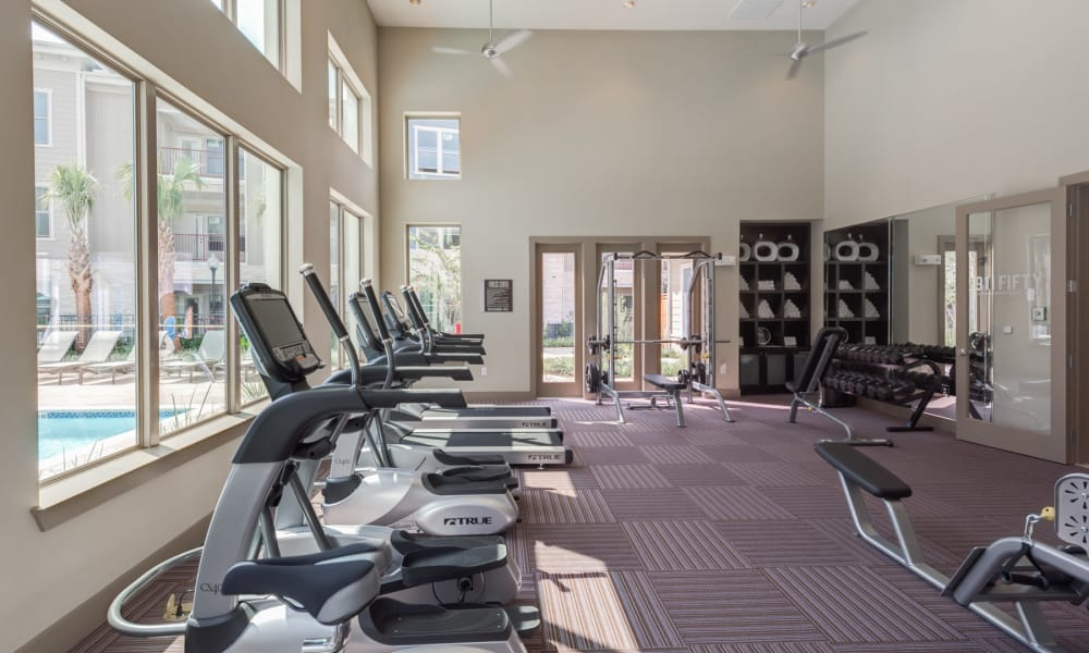 91 Fifty offers a fitness center in Houston, Texas