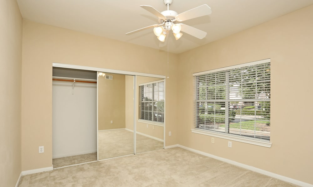 Bedroom with closet at Ashley House in Katy, Texas