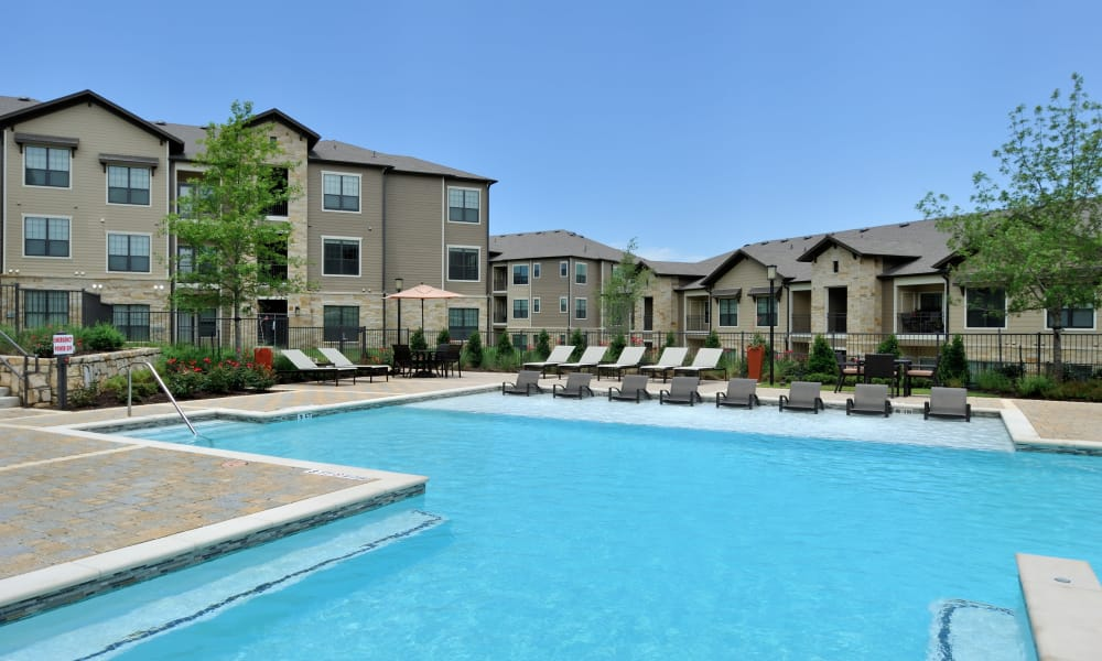 Cordevalle Apartments offers a swimming pool in Round Rock, Texas