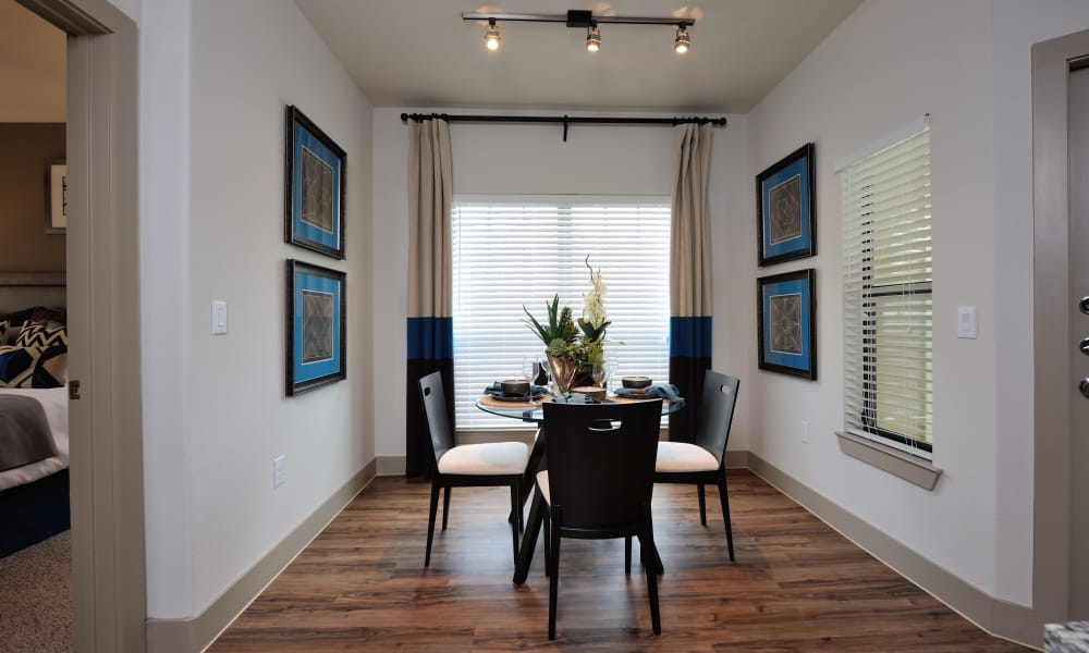 Dining room at Cordevalle Apartments in Round Rock, Texas