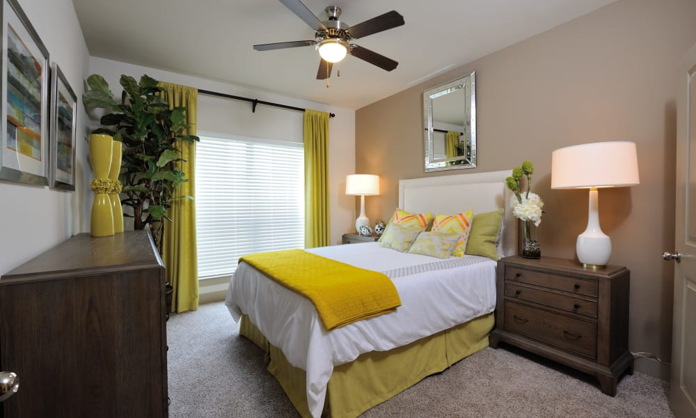 Spacious bedroom at Cordevalle Apartments in Round Rock, Texas