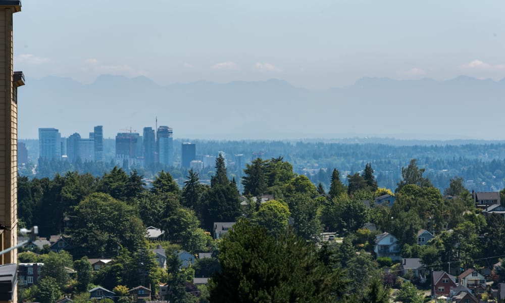 Wonderful views from Session Apartments in Seattle