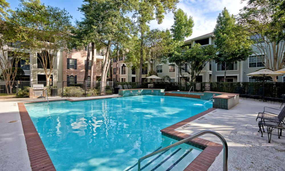 Swimming pool at Preserve at Cypress Creek in Houston, Texas