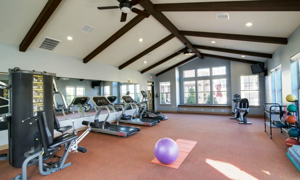Our apartments in Fort Worth, Texas offer a fitness center