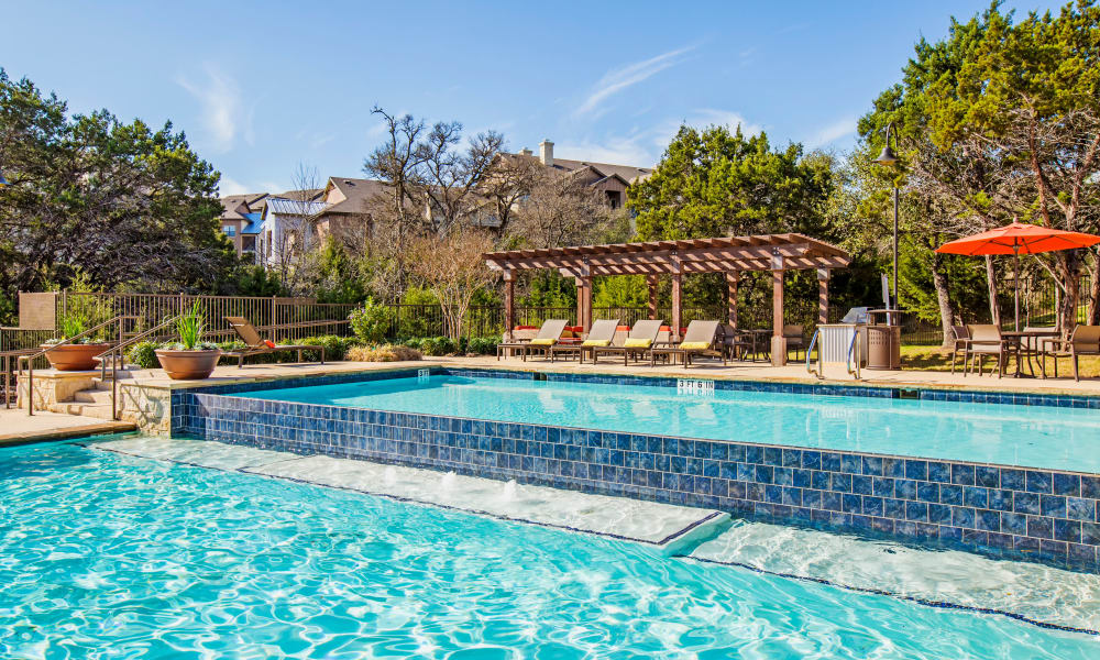 Swimming pool at Estates at Bee Cave in Bee Cave, Texas
