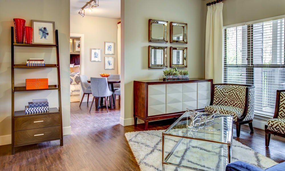 Beautiful apartment interior at Estates at Bee Cave in Bee Cave, Texas