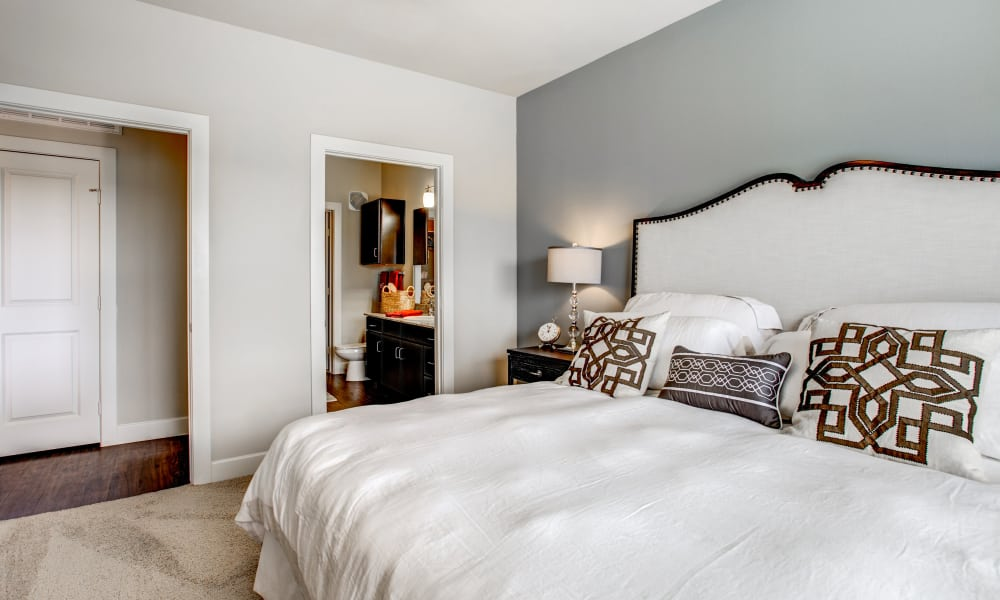 Estates at Bee Cave offers a spacious bedroom in Bee Cave, Texas