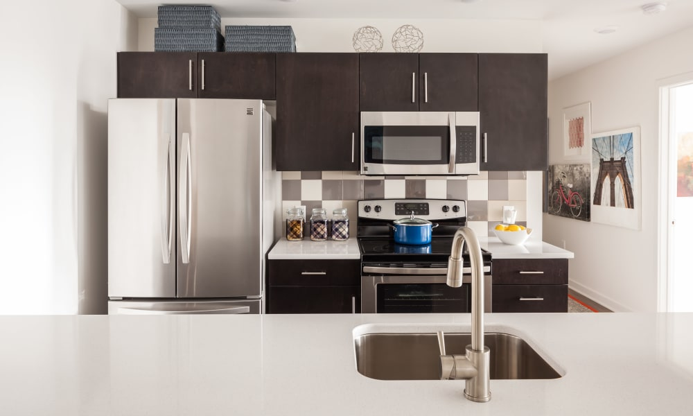 Kitchen at Tower280 in Rochester, NY