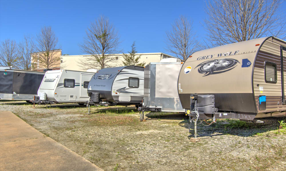 Store your RV with An Extra Room Self Storage in Midland, Georgia