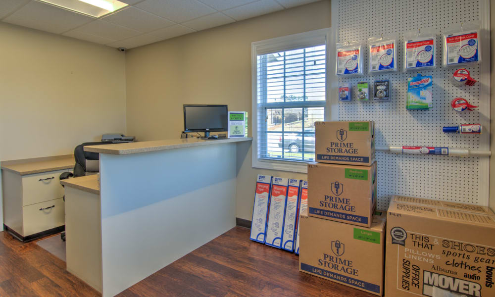 Get your packing and moving supplies at An Extra Room Self Storage in Midland, Georgia