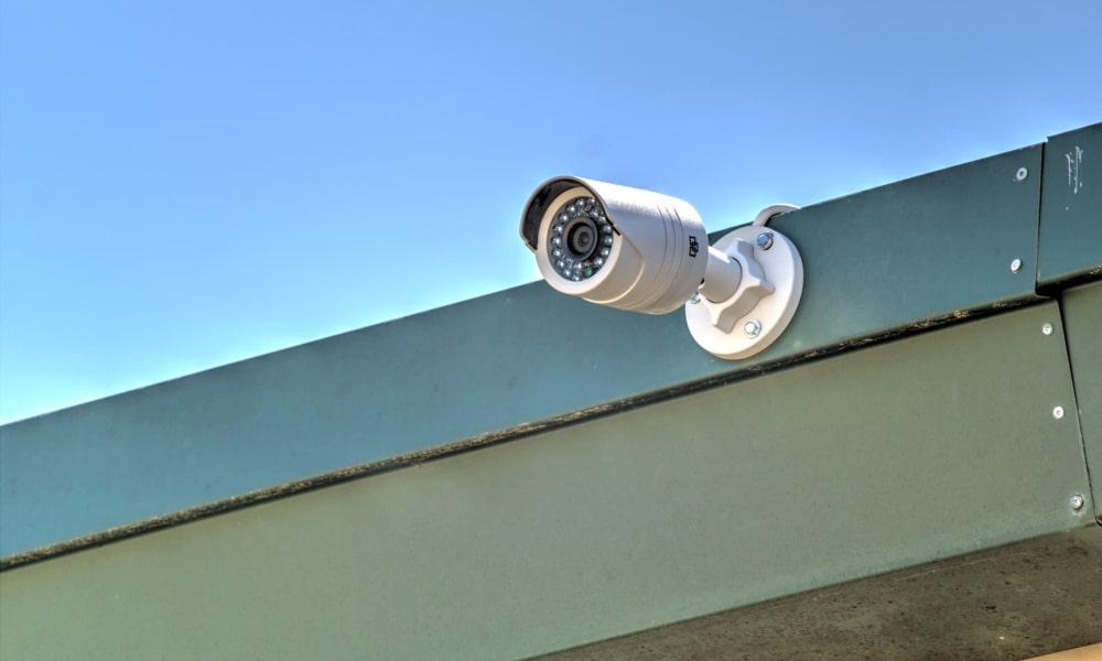 Surveillance camera at An Extra Room Self Storage in Midland, Georgia