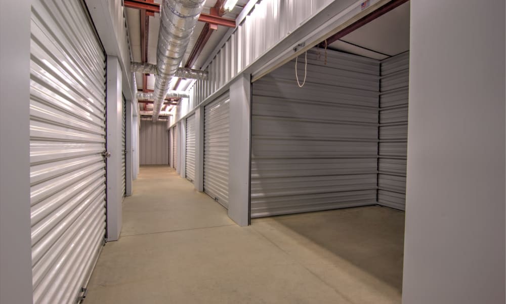 Indoor units at An Extra Room Self Storage in Midland, Georgia