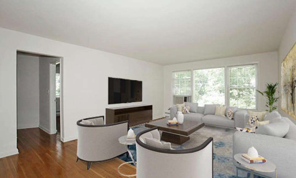 Spacious Living Room at Short Hills Village Apartment Homes in Short Hills, NJ