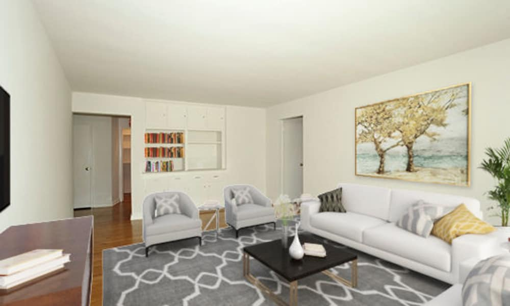 Spacious Living Room at Short Hills Village Apartment Homes in Short Hills, New Jersey