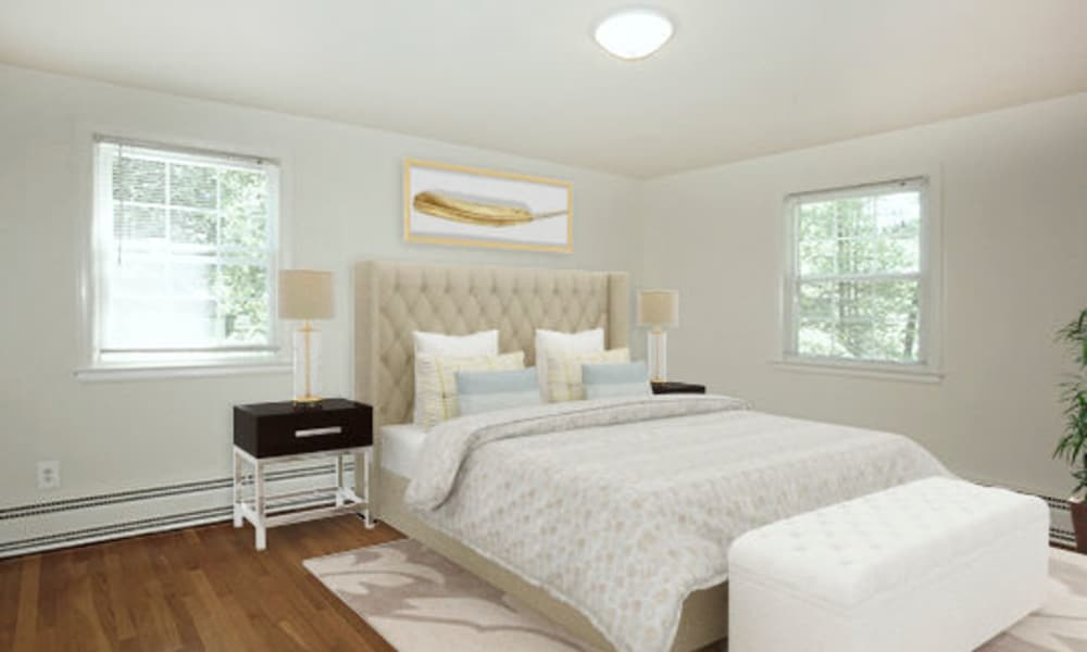 Spacious Bedroom at Short Hills Village Apartment Homes in Short Hills, New Jersey