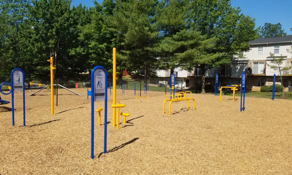 Playground at The Townhomes at Diamond Ridge in Baltimore, MD