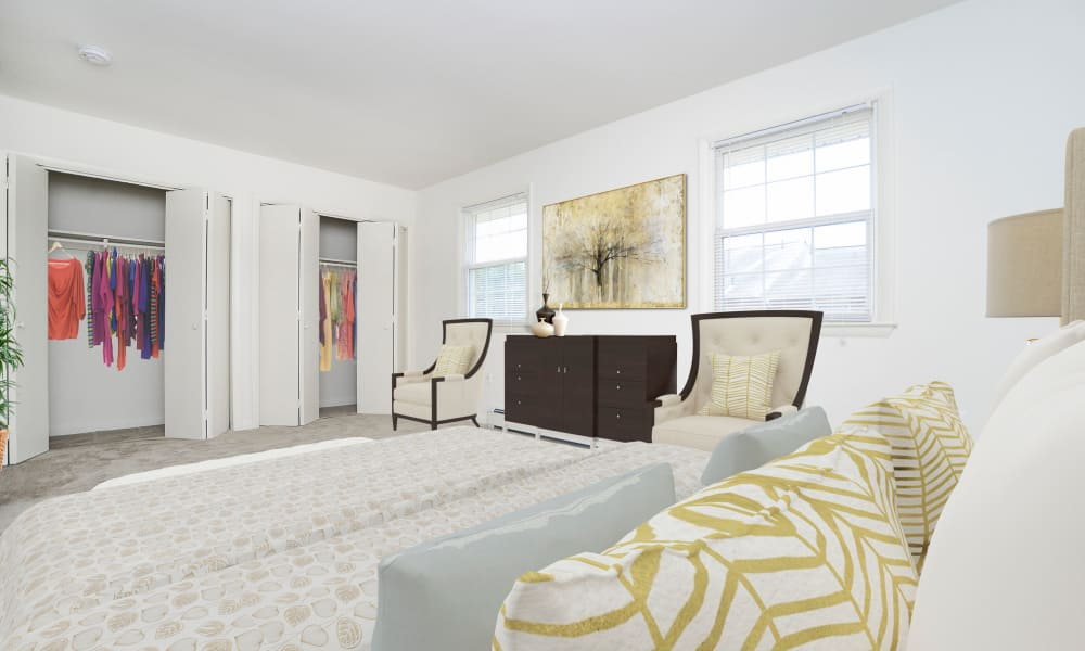 Spacious Bedroom at Vineland Village Apartment Homes in Vineland, New Jersey