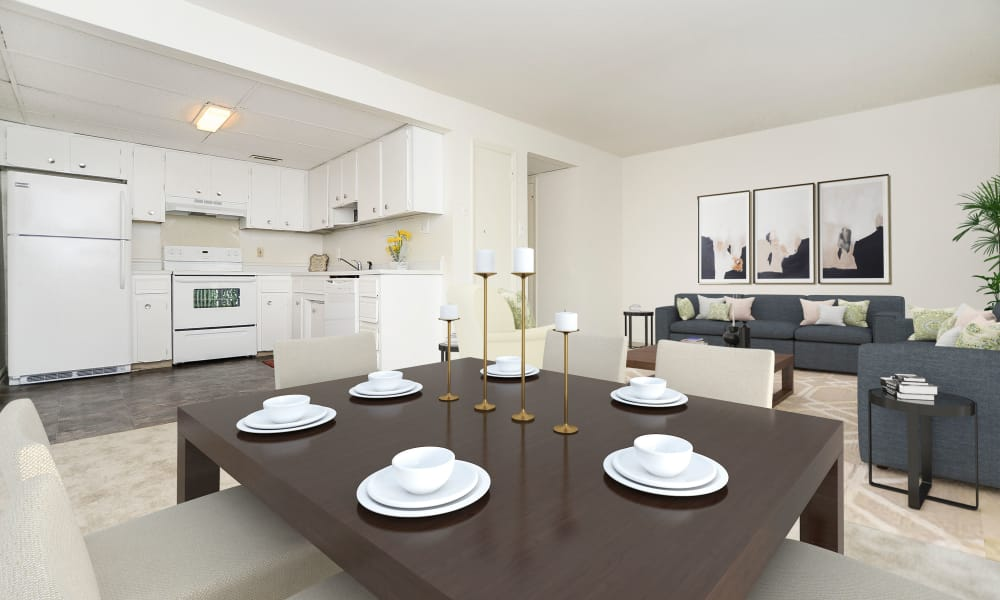 Dining Room at Vineland Village Apartment Homes in Vineland, New Jersey