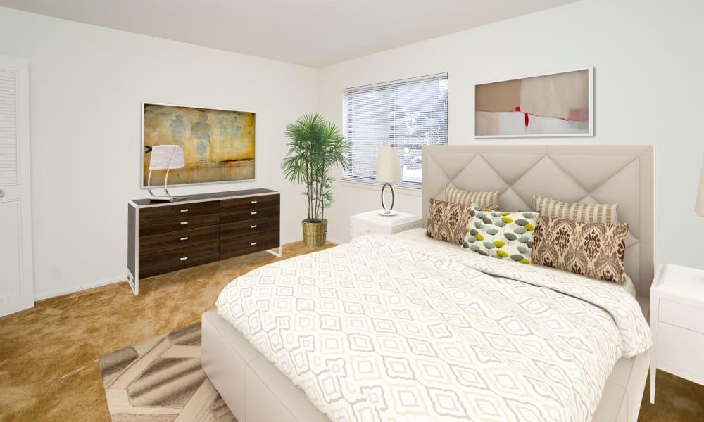 Bedroom at Westwood Gardens Apartment Homes in West Deptford, NJ