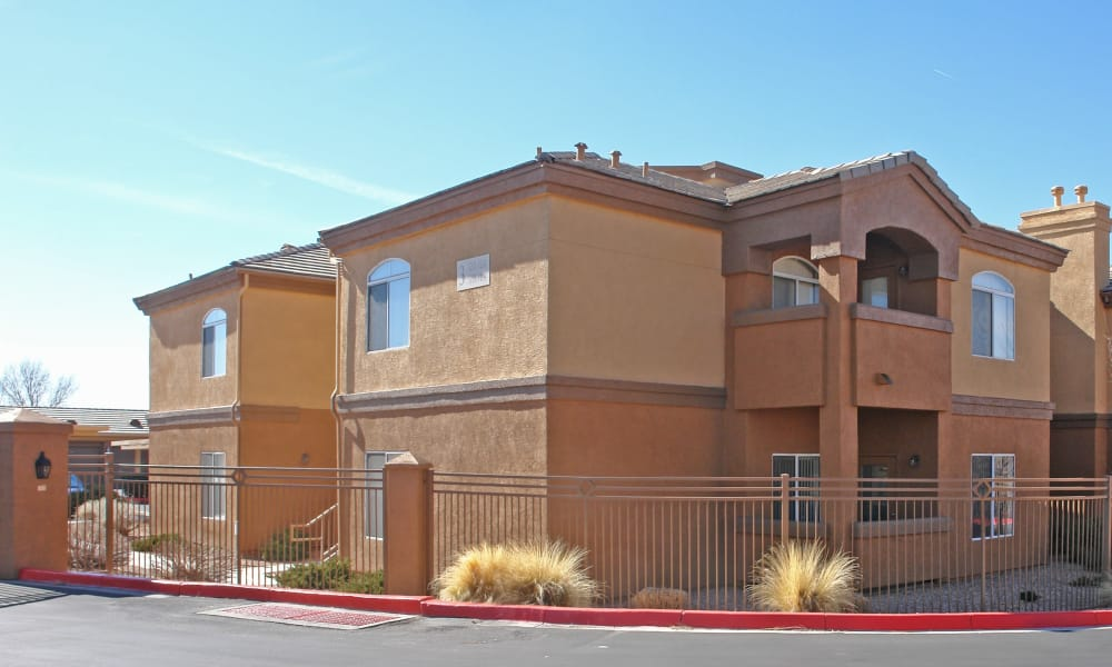 Apartment buildings at Broadstone Heights in Albuquerque, New Mexico