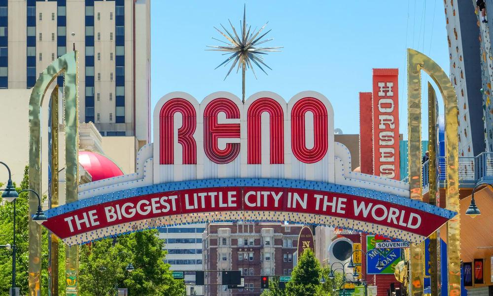Reno sign in Nevada