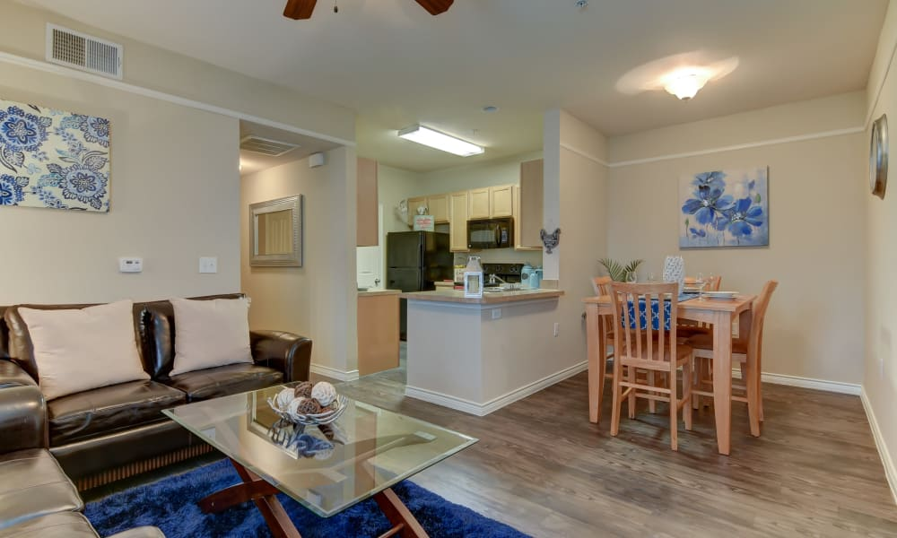 Beautiful apartment interior at Hillstone Ranch Apartments in San Antonio, Texas