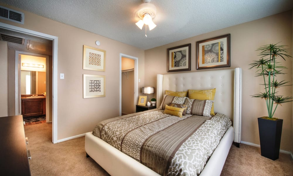 Sedona Canyon offers a spacious bedroom in San Antonio, Texas