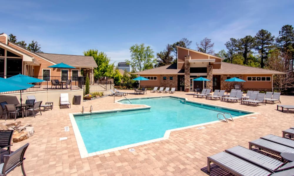Swimming pool at The Residences at Vinings Mountain in Atlanta, Georgia
