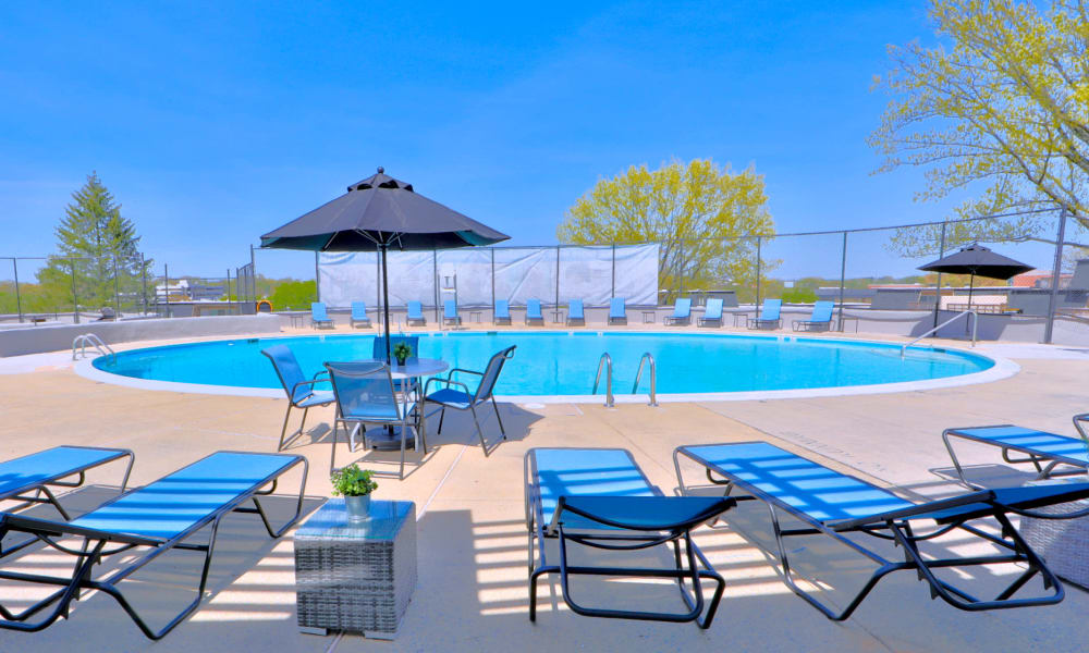 Swimming Pool at The Colony at Towson Apartments & Townhomes in Towson, MD