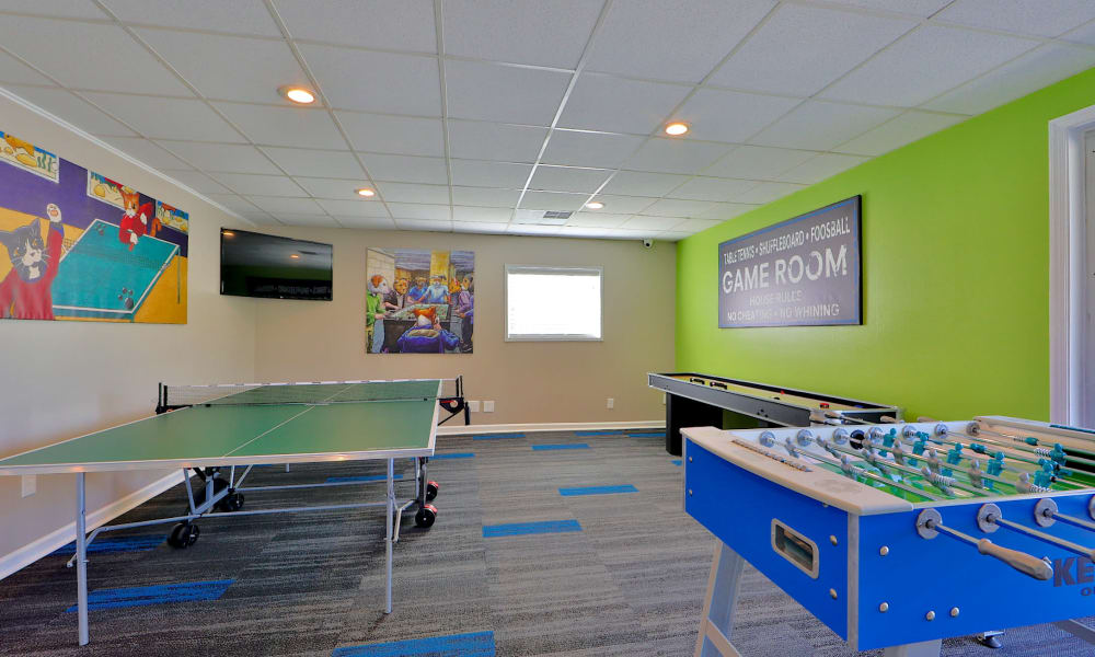 Game Room at Lighthouse at Twin Lakes Apartment Homes in Beltsville, MD