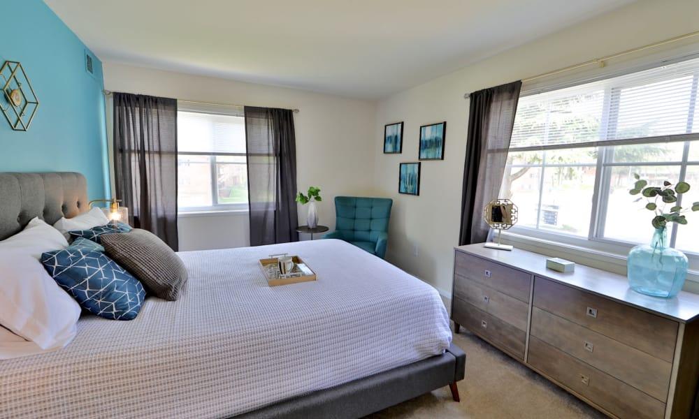 Bedroom at Lynbrook at Mark Center Apartment Homes in Alexandria, VA