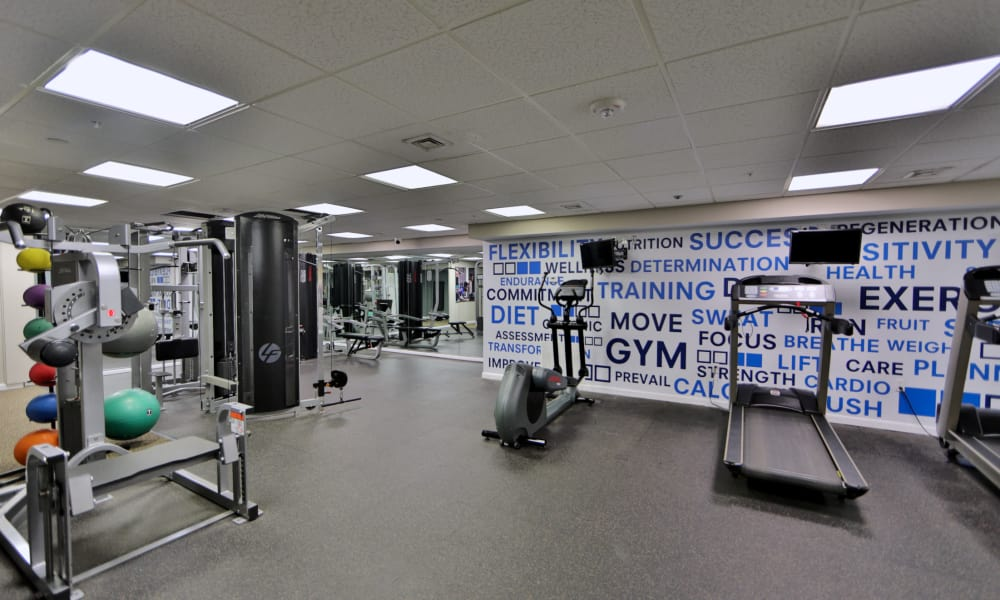 Fitness Center at Columbia Pointe Apartment Homes in Columbia, MD
