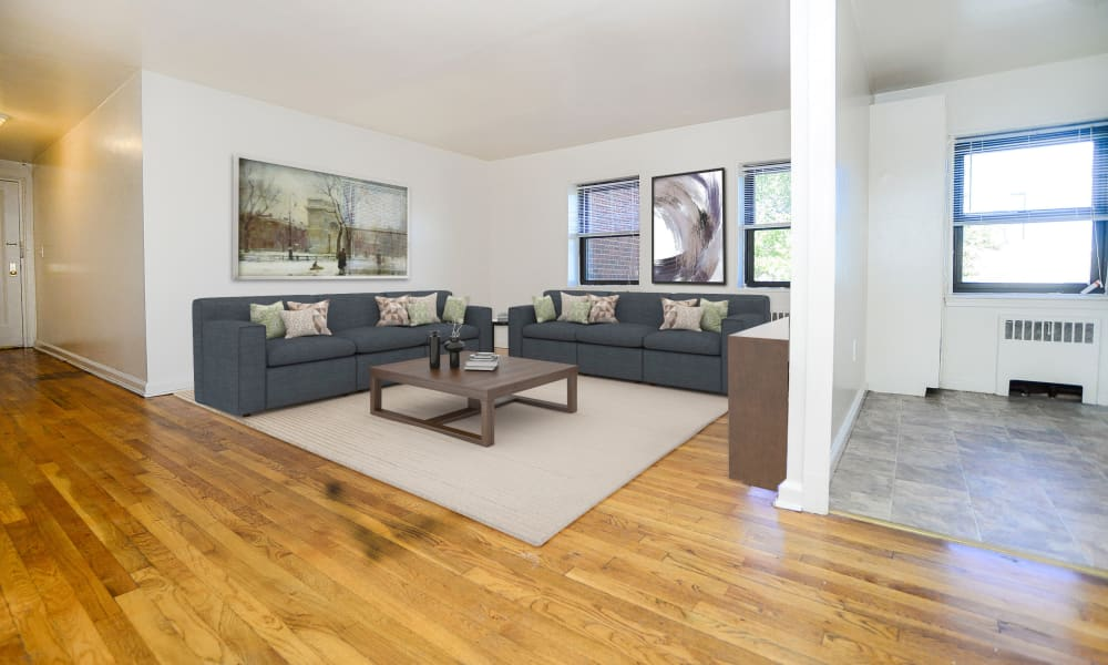 Living Room at Market Street Apartment Homes in Perth Amboy, New Jersey