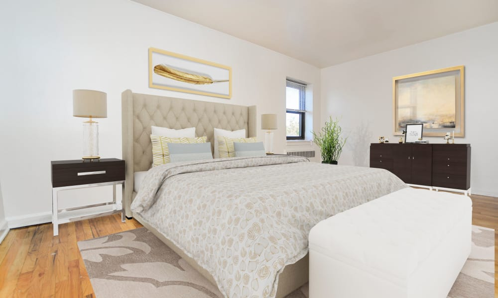 Bedroom at Market Street Apartment Homes in Perth Amboy, New Jersey