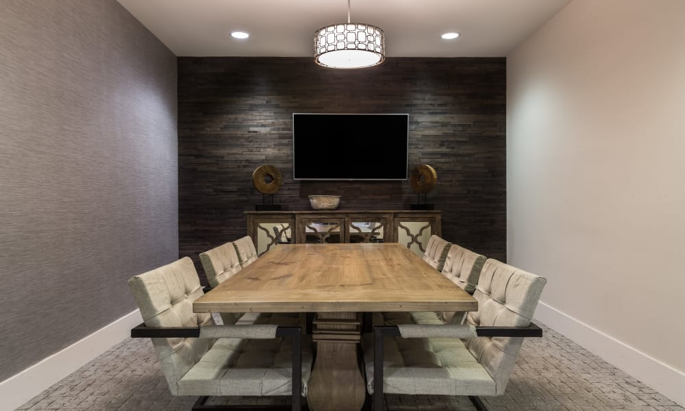 Carraway Village Apartments conference room in Chapel Hill, NC