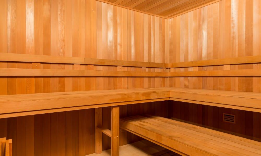 Carraway Village Apartments sauna in Chapel Hill, NC