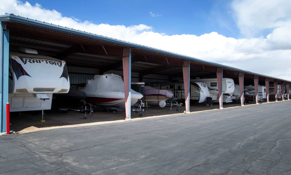 Daniels Road Self Storage offers RV and boat storage services in Heber City, Utah