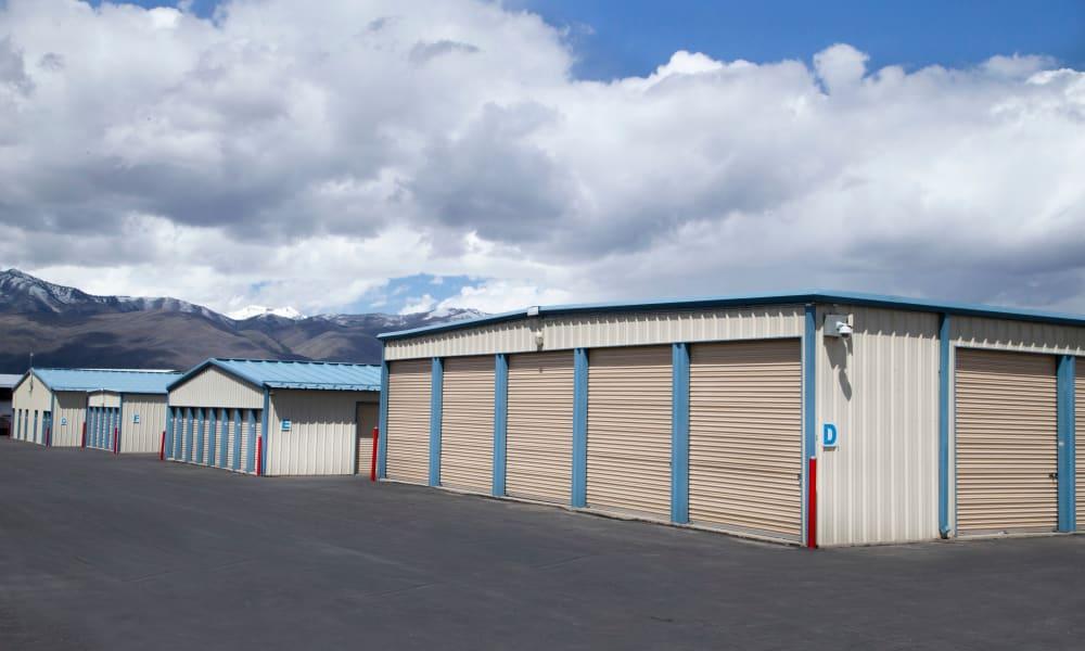 Outdoor units at self storage facility in Heber City, Utah