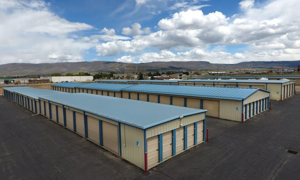 Self storage units at Daniels Road Self Storage in Heber City, Utah